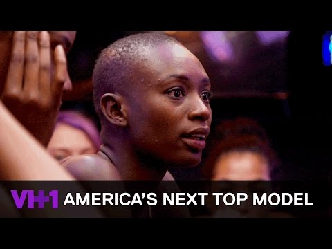 Binta Goes Off on Courtney After She Wins the Challenge  America's Next Top Model