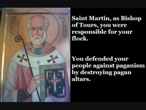 Saint Martin of Tours (November 11)