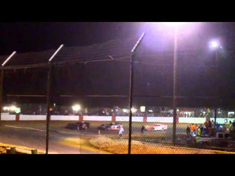 Ultimate Super Late Model Series May 17, 2013 at County Line Raceway Part 1 of 2