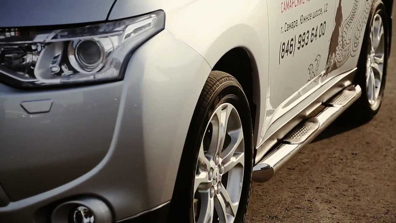 Mitsubishi Outlander XL Tuning - YouTube