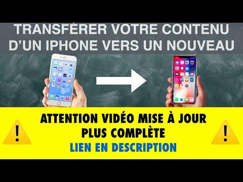 TRANSFERT VOTRE CONTENU D'UN IPHONE VERS UN NOUVEAU ( iPad, iPod aussi ) - Leçon 12