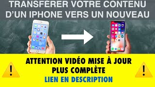 TRANSFERT VOTRE CONTENU D'UN IPHONE VERS UN NOUVEAU( iPad, iPod aussi ) - Leçon 12