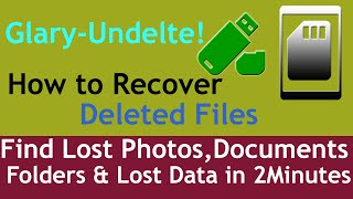 How to Recover deleted files for free find lost photos |Documents| Folders & lost data in 2 Minutes