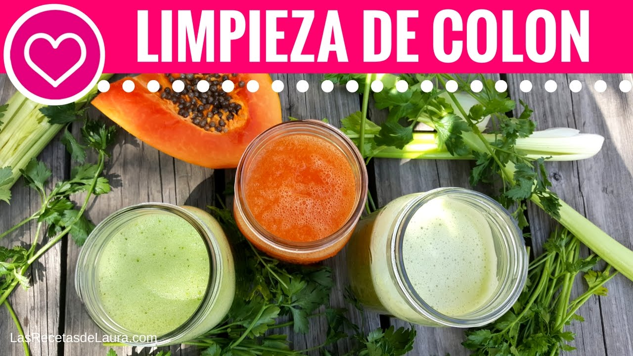 dieta limpieza de colon natural