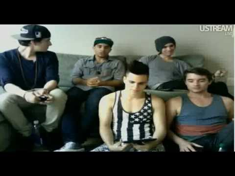Midnight Red Ustream Chat - 6/12/12 - Part 3