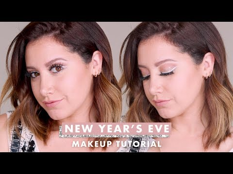My New Year's Eve Makeup Tutorial  Ashley Tisdale