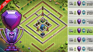 Th12 Best Trophy Base for Legend League with Replays | Th12 Defense Base with Inferno