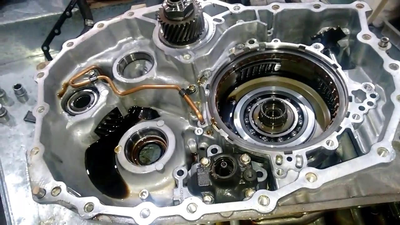 Câmbio CVT Nissan x-trail - YouTube