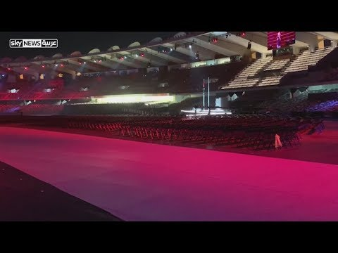 الاستعدادات لحفل ختام الأولمبياد الخاص بأبوظبي  - نشر قبل 30 دقيقة