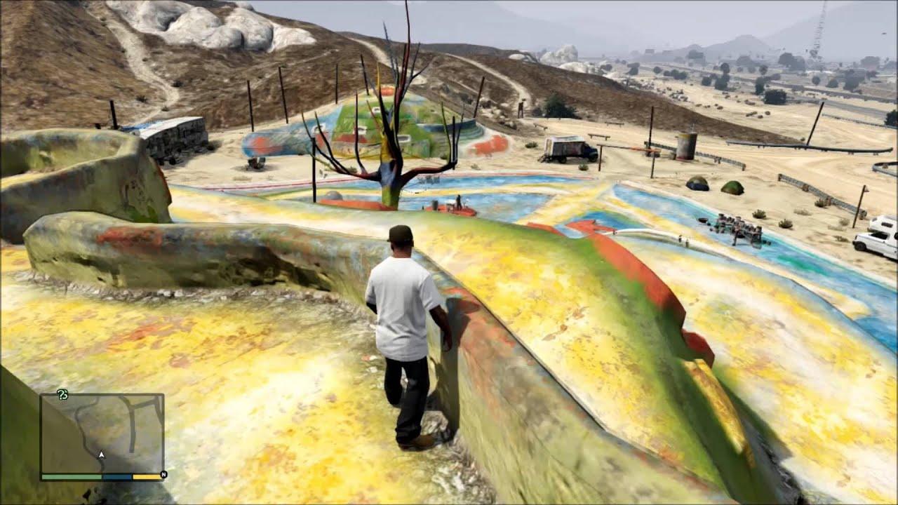 GTA V HIPPY TOWN IN THE DESERT FREE ROAM GAMEPLAY HD YouTube - Us map of hippie towns