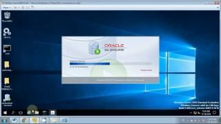 Установка Oracle Database Server 12c и подключение SQL Developer