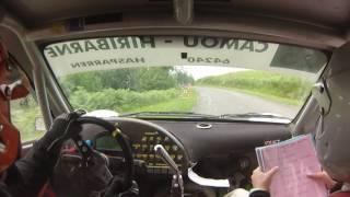Rallye du Baretous 2017 Hirigoyen/Desclaux