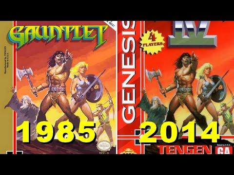 Evolution of gauntlet all games 1985 -2014 |