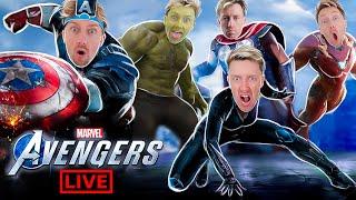 МСТИТЕЛИ МАРВЕЛ игра ! Прохождение и геймплей Marvel's AVENGERS на PS4 Жестянка ! Часть 1