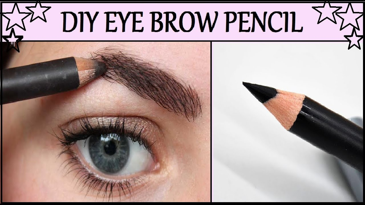 Diy Homemade Natural Eye Brow Pencil Simple Easy Tutorial