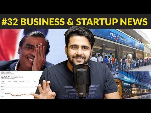 Business News #32 | Mukesh Ambani is not the Richest,Mindtree,Dell,Yes Bank,SBI,Phonepe,Saudi Aramco thumbnail