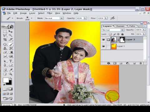 Photoshop CS2 - Phần 6 - Bài 3a - Album đơn