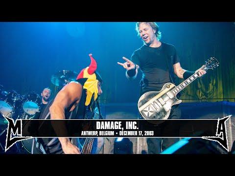 Metallica: Damage, Inc. (MetOnTour - Antwerp, Belgium - 2003) Thumbnail image