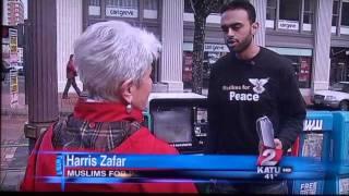 KATU Coverage of Portland Bomb Scare