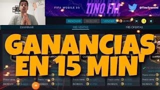 GANANCIAS EN 15 MINUTOS | FIFA MOBILE 20