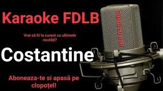 Karaoke FDLB - Costantine, Costantine (versuri)