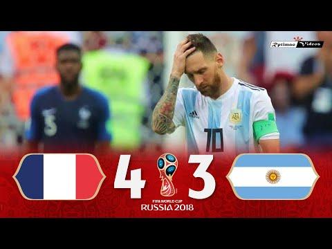 France 4 X 3 Argentina ● 2018 World Cup Extended Goals \u0026 Highlights HD