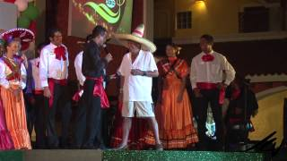 Hacienda Viva Mexico Show Start - Gran Bahia Principe Akumal - YouTube