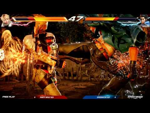 CEO 2016: Tekken 7 FR: Auction Tournament: Speedkicks vs Party Wolf