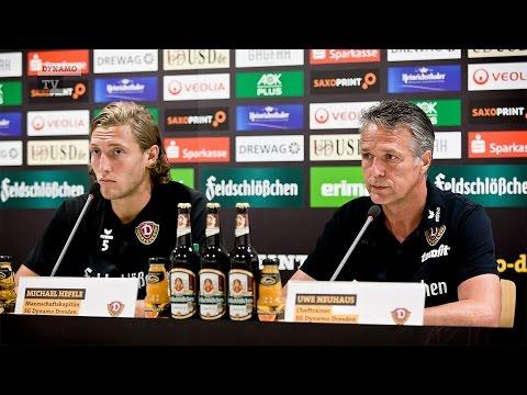 1. Spieltag | SGD - VFB | Pressekonferenz vor dem Spiel