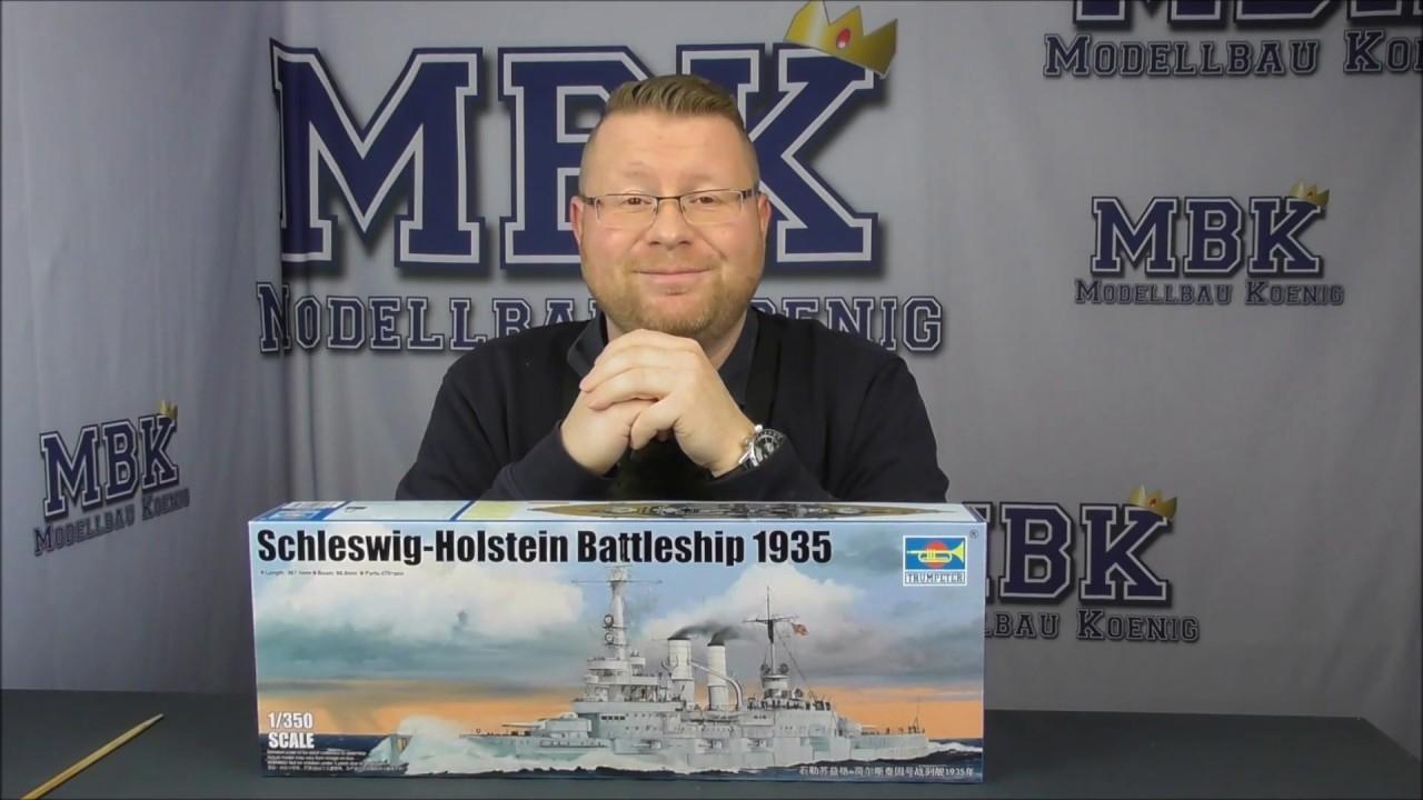 Trumpeter 05355 1//350 Scale Model Schleswig-Holstein Battleship 1908 NEW MODEL