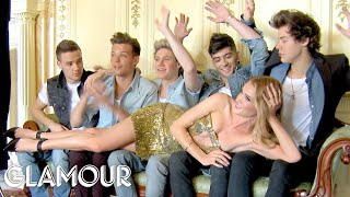 One Direction's Photoshoot with Rosie Huntington-Whiteley Behind the Scenes | Glamour