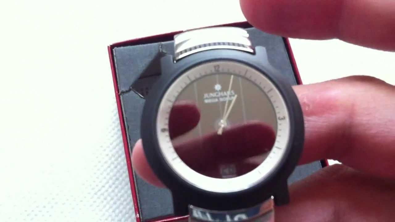 junghans mega radio controlled clock manual