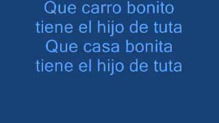 LETRA Y MUSICA AY FUE TUTA