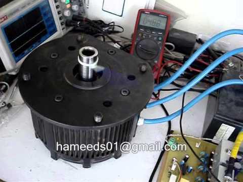 Brushless Dc Motor Drive 5kw 48v Youtube