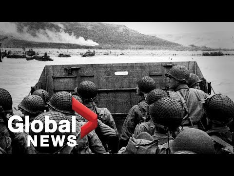 D-Day: Archive Video Of The Normandy Landings