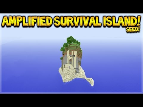Minecraft Console Edition - Amazing Amplified Survival Island Seed TU46