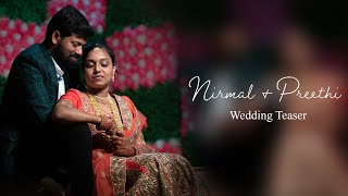 Nirmal & Preethi Wedding Teaser | Karaikudi | STUDIO ART