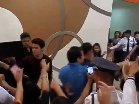 JaDine on their way out