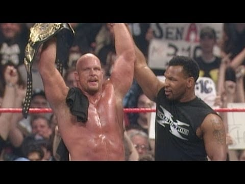 """Iron"" Mike Tyson knocks out Shawn Michaels: WrestleMania XIV"