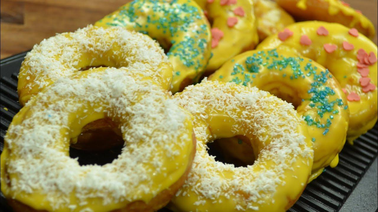 gef llte vanille donuts schnell und einfach selber machen kanal elf rezept 121 youtube. Black Bedroom Furniture Sets. Home Design Ideas