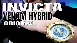 Invicta Watches Review : Invicta Venom Hybrid Watch Explained
