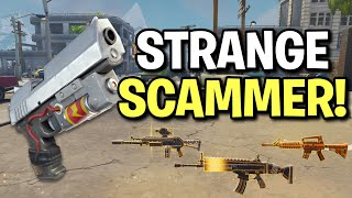 Strange Psycho Scammer Scams Himself! (Scammer Get Scammed) Fortnite Save The World