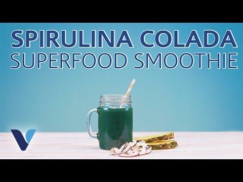 Spirulina Colada Recipe