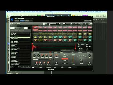 Beat production in Logic Pro X