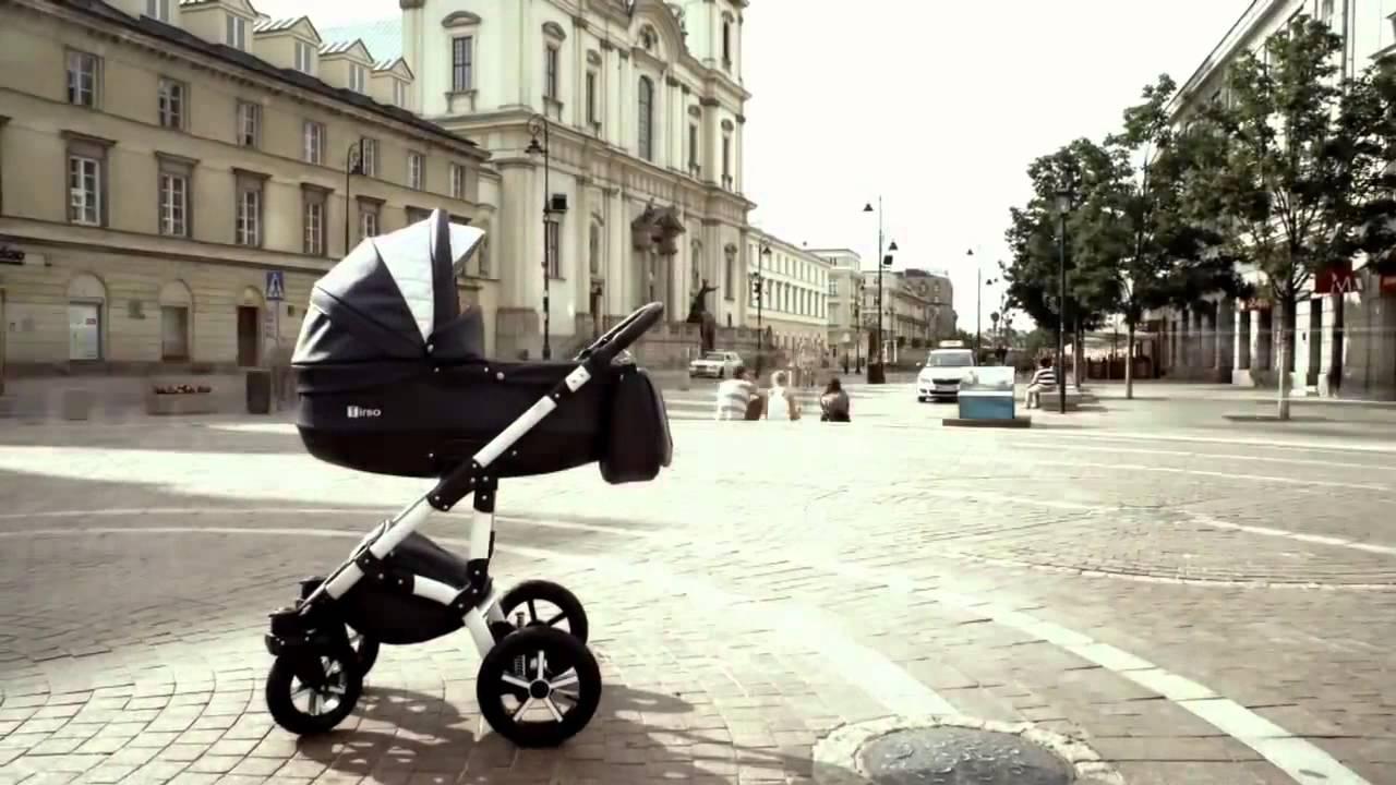четырехколесная прогулочная коляска летняя купить - YouTube