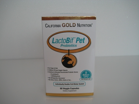 iHerb/California Gold Nutrition, LactoBif Pet Probiotics, 5 Billion CFU