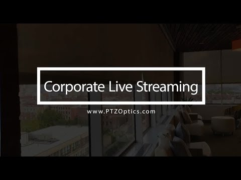 Corporate Live Streaming