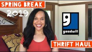 Spring Break THRIFT HAUL | Try-on/Styling