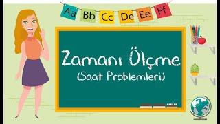 1. Sınıf - Saat Problemleri