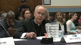 Bishop Mark J. Seitz On Unaccompanied Children | US House Judiciary Committee | June 25, 2014